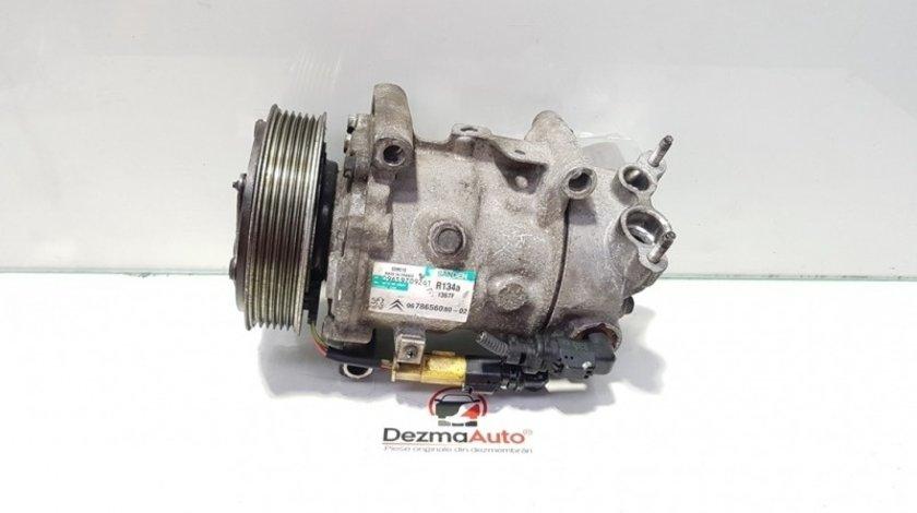 Compresor clima, Peugeot 307, 2.0 B, RFJ, 9678656080