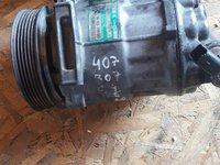 Compresor Clima Peugeot 407 1 6 Hdi 9hz 9hy 109 Cai