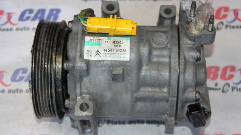 Compresor clima Peugeot 407 cod: 9654764280 2004-2010