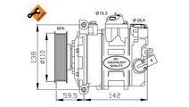 Compresor, climatizare Audi A3 (2004-2013) [8PA] #...