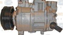 Compresor, climatizare AUDI A4 (8K2, B8) HELLA 8FK...