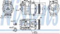 Compresor climatizare AUDI A6 4B2 C5 Producator NI...