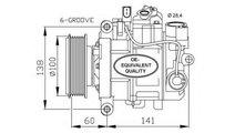 Compresor, climatizare Audi A6 AVANT (2004-2011) [...