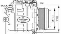 Compresor climatizare BMW 3 Touring E91 NRF 32533