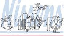 Compresor, climatizare BMW Seria 1 Cabriolet (E88)...