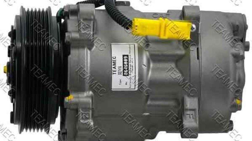 Compresor climatizare CITROËN C5 I DC TEAMEC 8646009