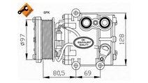 Compresor, climatizare Ford Fiesta 4 (1995-2002) [...