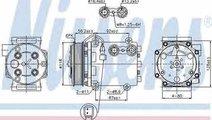 Compresor climatizare FORD FIESTA Van Producator N...