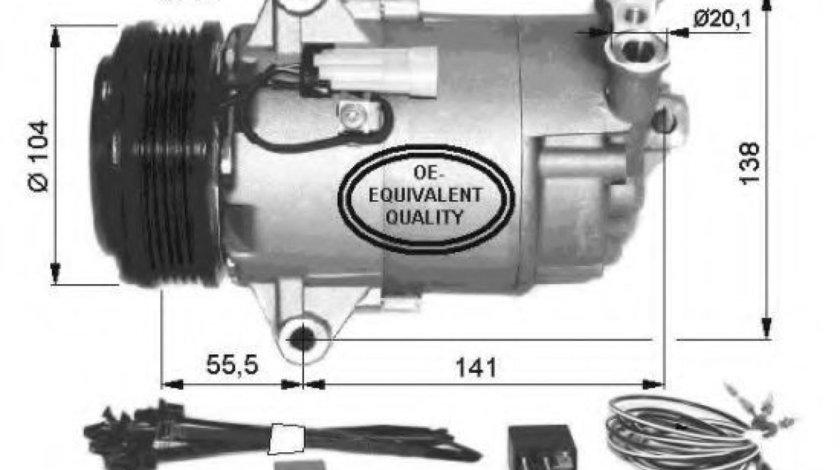 Compresor, climatizare OPEL ASTRA G Combi (F35) (1998 - 2009) NRF 32426 piesa NOUA
