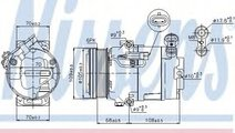 Compresor, climatizare OPEL ASTRA H (L48) (2004 - ...