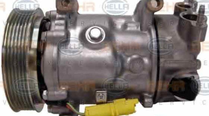 Compresor climatizare PEUGEOT 307 SW 3H HELLA 8FK 351 340-581