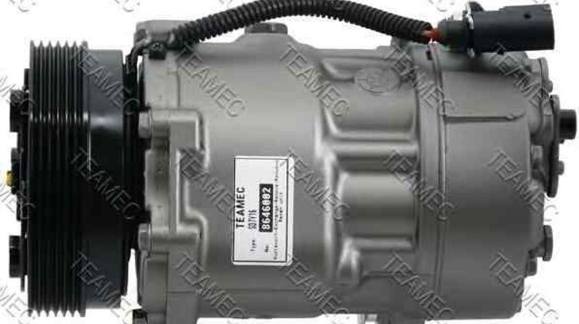 Compresor climatizare SKODA OCTAVIA Combi 1U5 TEAMEC 8646002