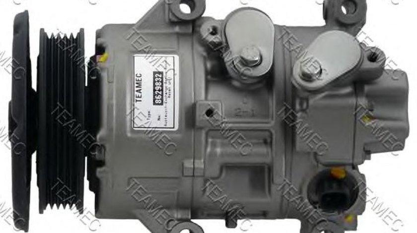 Compresor, climatizare TOYOTA AVENSIS Limuzina (T25) (2003 - 2008) TEAMEC 8629832 piesa NOUA