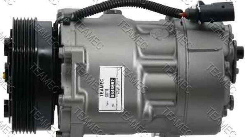 Compresor climatizare VW CADDY II caroserie 9K9A TEAMEC 8646002