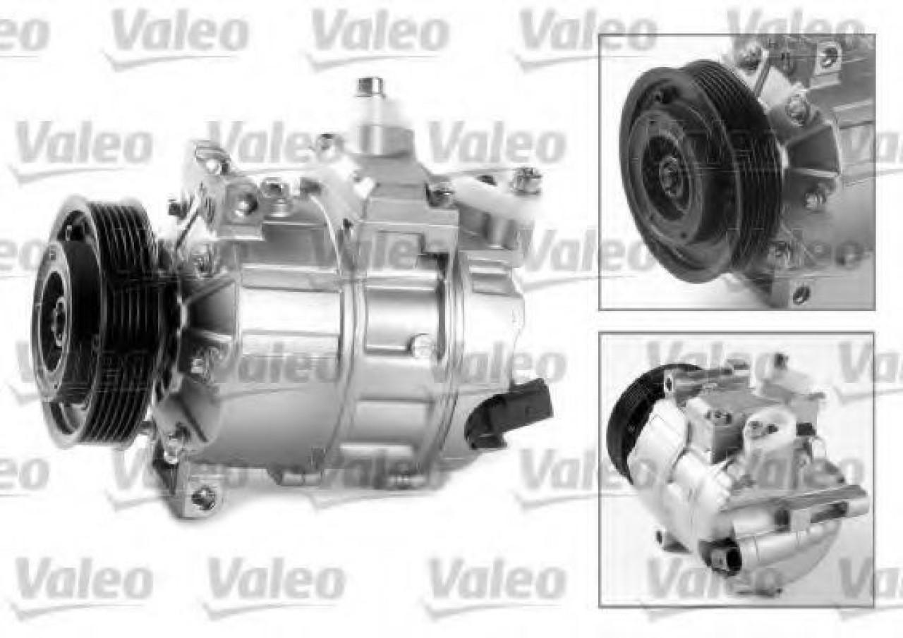 Compresor, climatizare VW TOURAN (1T3) (2010 - 2015) VALEO 699357 piesa NOUA