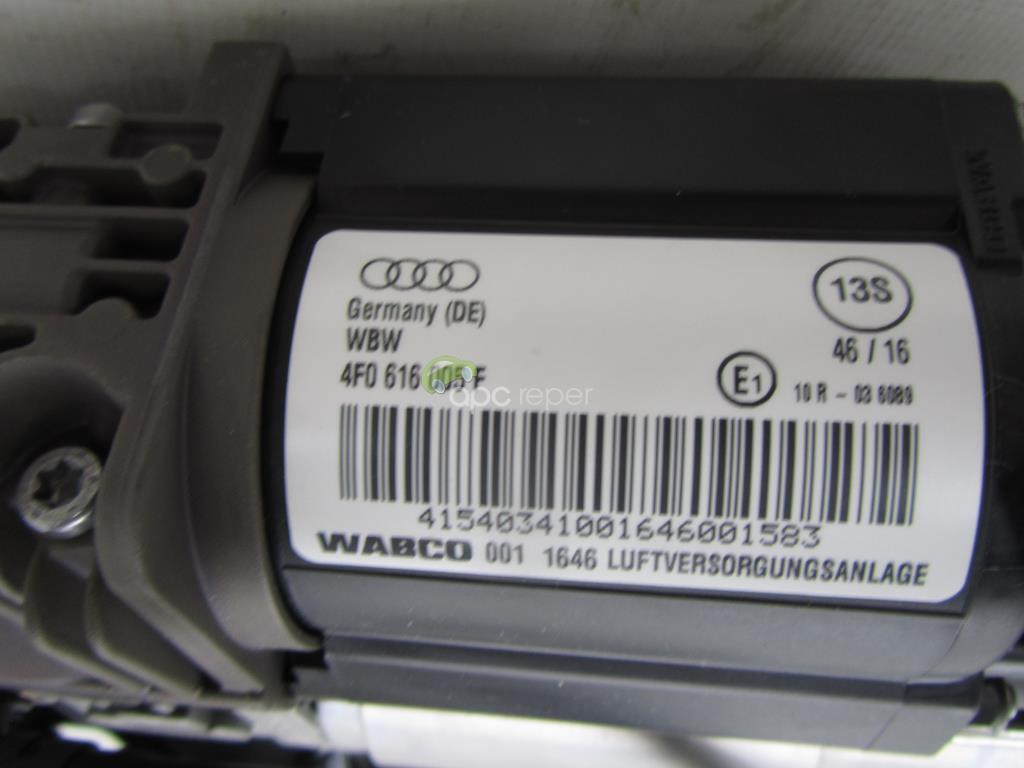 Compresor suspensie pneumatica Audi A6 4F Allroad cod 4F0616005F Nou Original