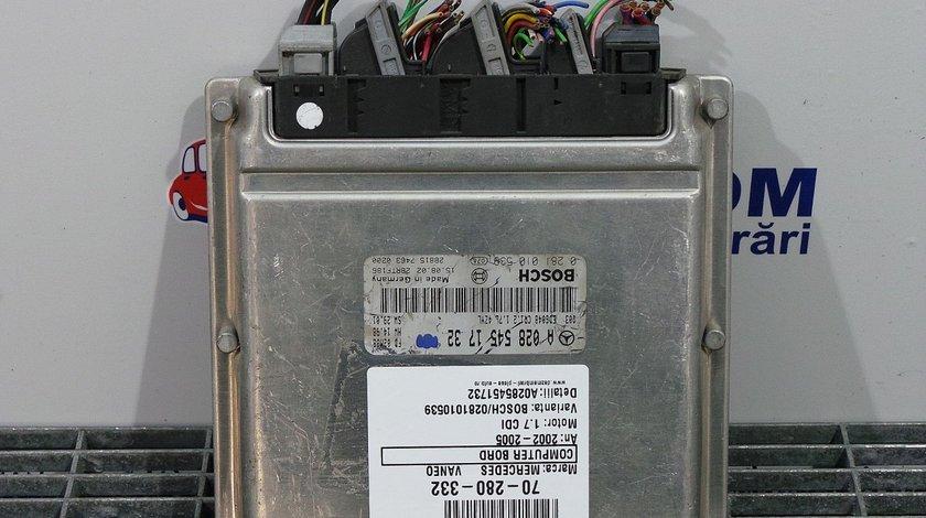 COMPUTER BORD MERCEDES VANEO VANEO 1.7 CDI - (2002 2005)