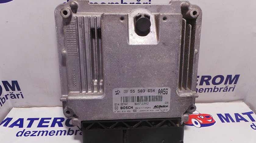 COMPUTER BORD OPEL ASTRA J ASTRA J A13DTE - (2009 2012)