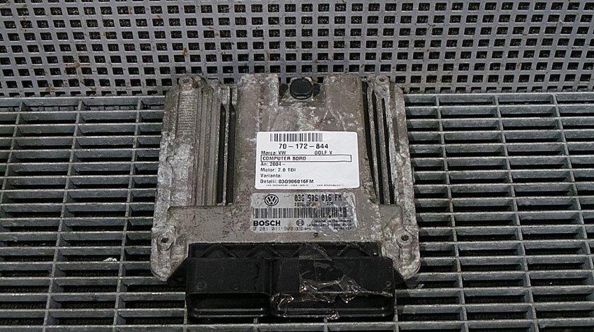COMPUTER BORD VW GOLF V GOLF V 2.0 TDI - (2004 2009)
