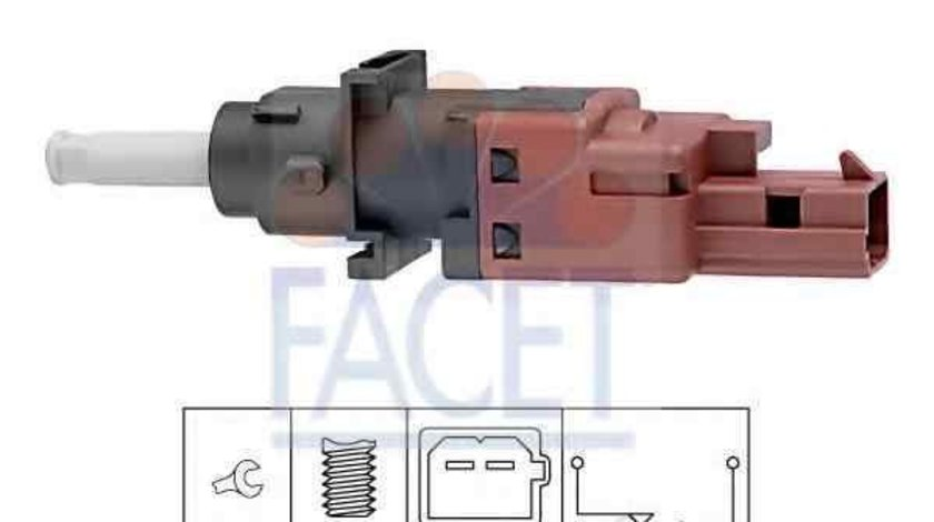 Comutator, actionare ambreiaj (Tempomat) ALFA ROMEO 159 Sportwagon (939) FACET 7.1170
