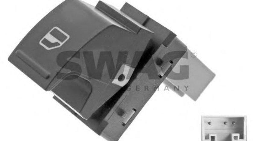Comutator / buton actionare geamuri VW CADDY III Caroserie (2KA, 2KH, 2CA, 2CH) (2004 - 2016) SWAG 30 93 7485 - produs NOU
