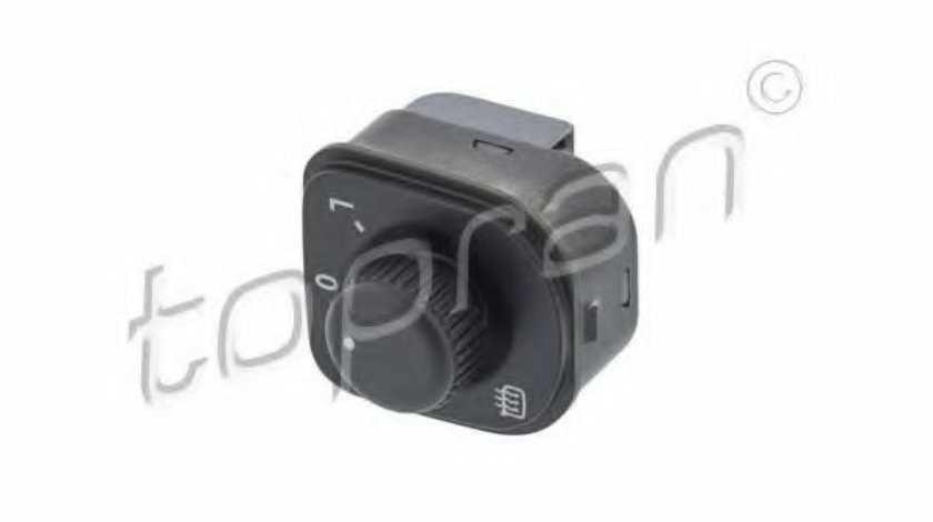 Comutator / buton reglare oglinda VW GOLF V (1K1) (2003 - 2009) TOPRAN 115 166 produs NOU