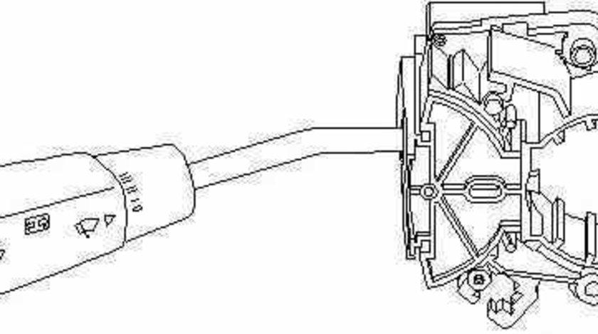 Comutator coloana directie MERCEDES-BENZ C-CLASS W202 TOPRAN 400 525