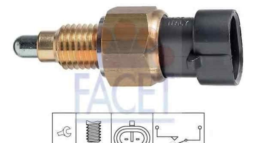 Comutator, lampa marsalier FIAT LINEA (323) FACET 7.6249