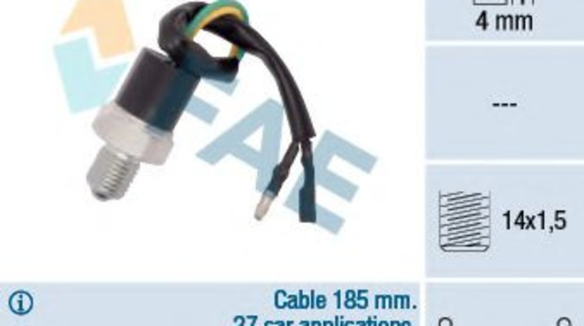 Comutator, lampa marsarier OPEL FRONTERA A (5_MWL4) (1992 - 1998) FAE 41260 piesa NOUA