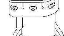 Comutator lumini frana FORD FOCUS II combi (DA_) T...