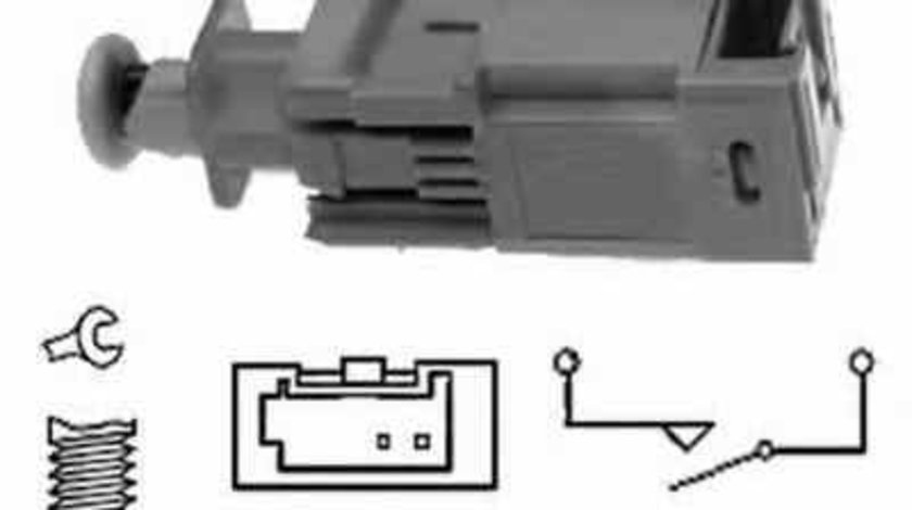 Comutator lumini frana OPEL ASTRA G Cabriolet F67 EPS 1810207