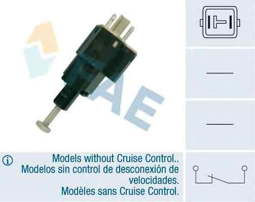 Comutator lumini frana OPEL ASTRA G hatchback F48 F08 FAE 24505