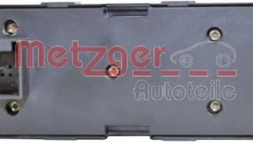 Comutator,macara geam SEAT LEON (1M1) (1999 - 2006) METZGER 0916305 piesa NOUA