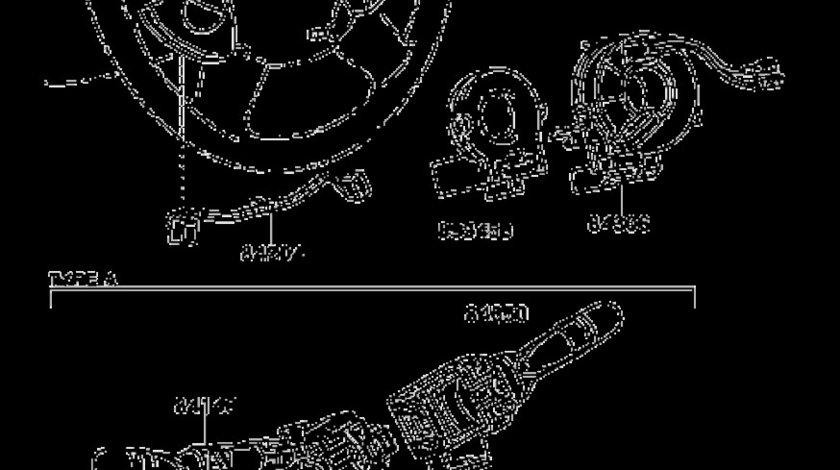 Comutator stergatoare Toyota Prius II TOYOTA OE 84652-48030