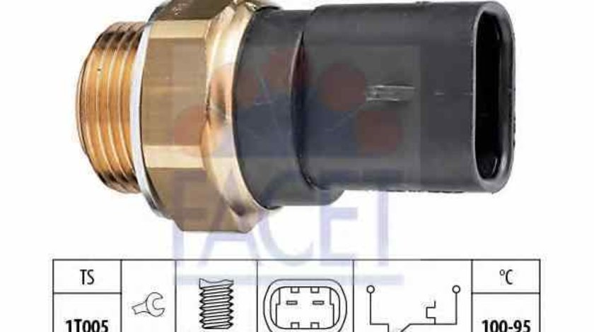 Comutator temperatura ventilator radiator VAUXHALL COMBO Mk I B FACET 7.5117