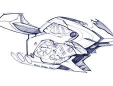 Concept 6 motocicleta BMW