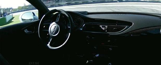 Conceptul Audi RS7 Piloted Driving ne arata cum vor fi cursele auto in viitor