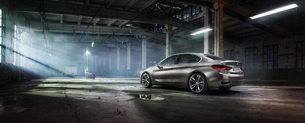 Conceptul BMW Compact Sedan anunta un rival pentru Audi A3 si Mercedes CLA
