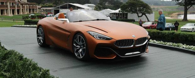 Conceptul care anticipeaza urmatorul BMW Z4 a debutat oficial si arata absolut fabulos. POZE REALE