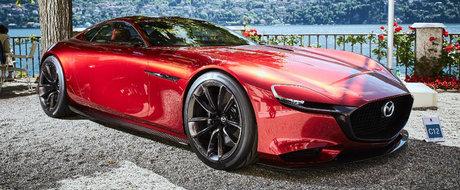 Conceptul Mazda RX-Vision a fost rasplatit cu un prestigios premiu pentru design