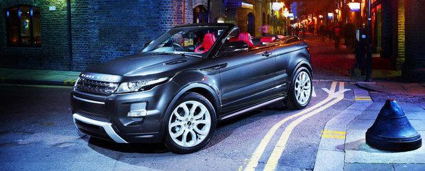 Conceptul Range Rover Evoque Convertible NU intra in productia de serie!