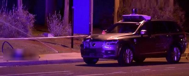 Concluziile accidentului in care un Volvo autonom de la UBER a ucis o femeie: sistemul a detectat pietonul, dar nu a franat