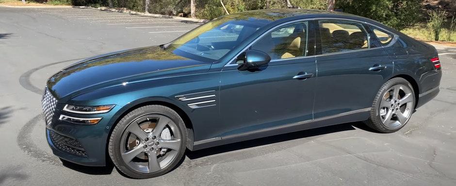 Concureaza cu BMW Seria 5, dar pentru multi e o necunoscuta. Noua masina are motor V6 twin-turbo si interior de mare lux