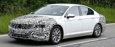 Concurenta trece la rugaciuni: Un nou Volkswagen Passat se pregateste de lansare