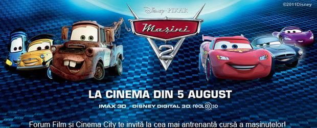 Concurs 4Tuning: Castiga patru invitatii duble la avanpremiera filmului Masini 2!