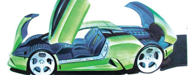 Concurs de design auto: Lamborghini Murcielago Concept. Premiu: 1000 de Euro!!!