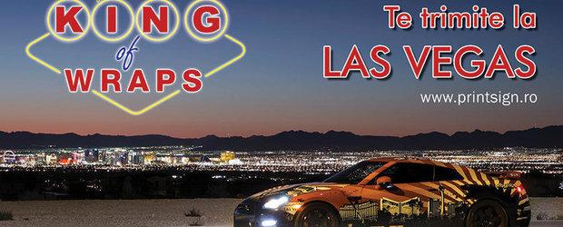 Concursul KING of Wraps te trimite in Las Vegas!