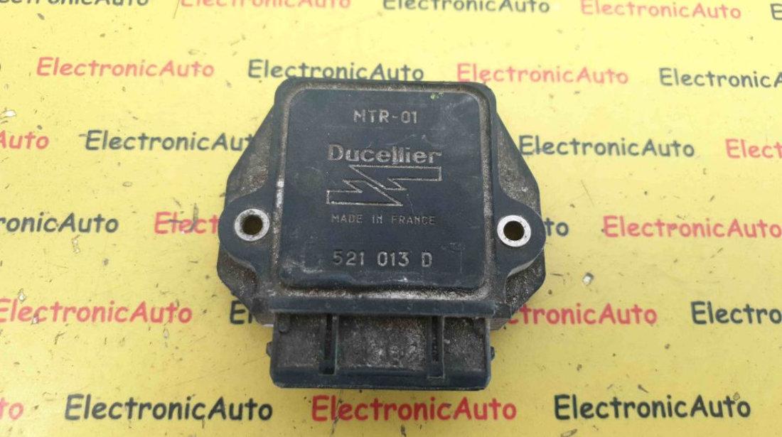 Condensator Aprindere Citroen BX, Peugeot 206, 521013D, MTR-01 Ducellier