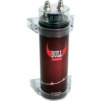 Condensator Audio Auto Bull Audio 1 Farad 149 LEI Sigilat! IEFTIN!