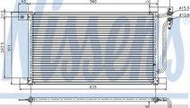 Condensator, climatizare BMW X3 (E83) (2004 - 2011...